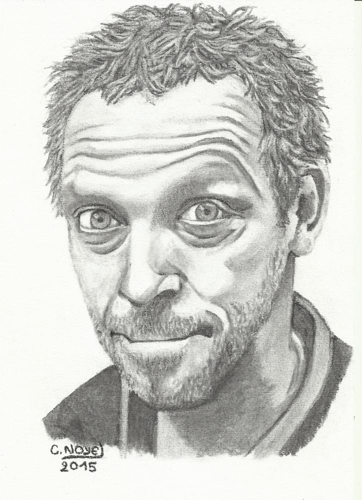 Hugh Laurie por OFusain